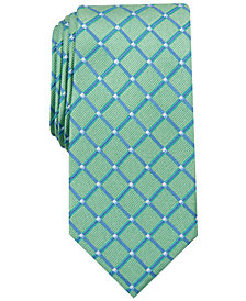 Nautica Men's Harland Grid Slim Tie
