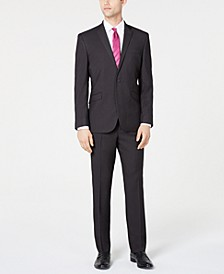 Men's Slim-Fit Ready Flex Stretch Micro-Dot Suit