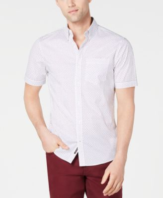 Men's Slim-Fit Abner Printed Shirt, Created for Macy's