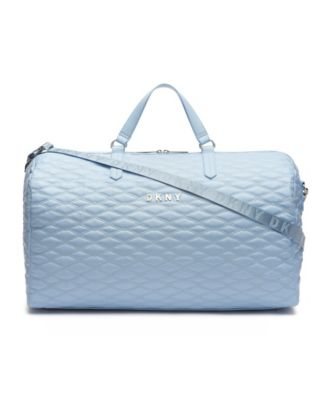 Allure Quilted Barrel Large Duffle