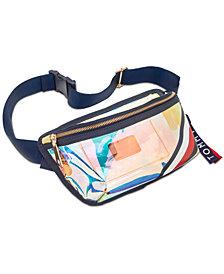 Tommy Hilfiger Kala Iridescent Convertible Belt Bag