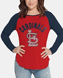 Touch by Alyssa Milano Women's St. Louis Cardinals Long Sleeve Touch T-Shirt