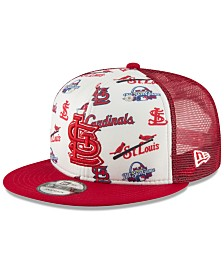New Era St. Louis Cardinals Hawaiian Trucker 9FIFTY Snapback Cap
