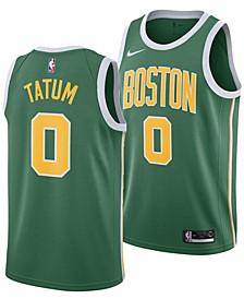 Men's Jayson Tatum Boston Celtics Earned Edition Swingman Jersey