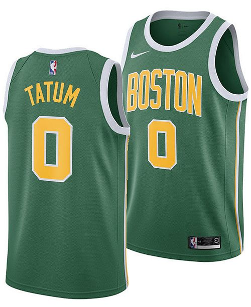 buy popular 4299d 0e832 Men's Jayson Tatum Boston Celtics Earned Edition Swingman Jersey