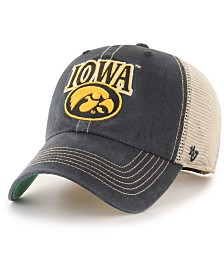 '47 Brand Iowa Hawkeyes Tuscaloosa Mesh CLEAN UP Cap