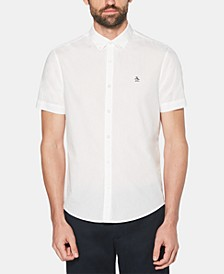 Men's Logo Graphic Poplin Shirt
