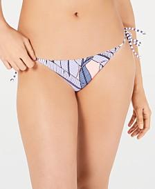 Body Glove Reversible Printed Iris Tie-Side Bikini Bottoms