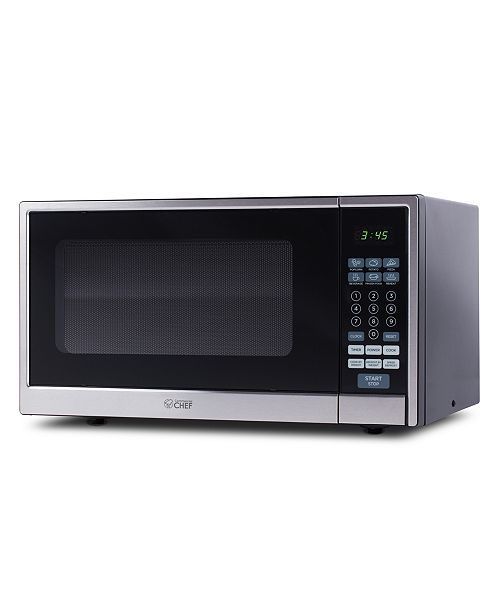 Commerical Chef Commercial Chef CHCM11100SSB 1.1 Cu. Ft. Microwave