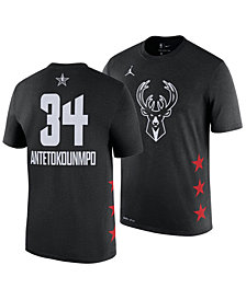 Nike Men's Giannis Antetokounmpo Milwaukee Bucks All-Star Player T-Shirt