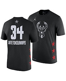 6d957bb4ce Nike Men s Giannis Antetokounmpo Milwaukee Bucks All-Star Player T-Shirt
