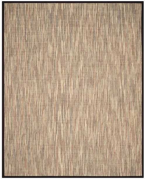 Safavieh Natural Fiber Natural and Brown 9' x 12' Sisal Weave Area Rug