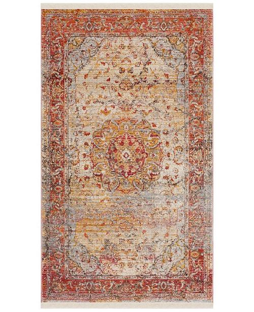 Safavieh Vintage Persian Saffron and Cream 3' x 5' Area Rug