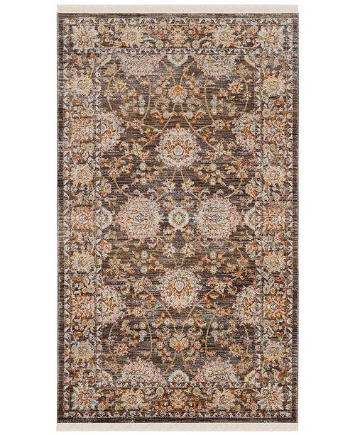 Safavieh Vintage Persian Brown and Multi 3' x 5' Area Rug