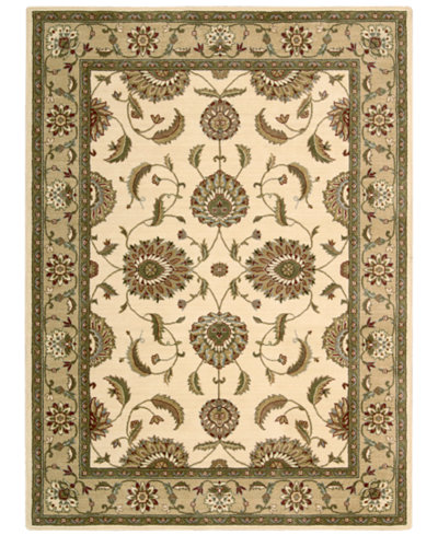 CLOSEOUT! Nourison Area Rug, Somerset Collection ST60 Tabriz Ivory 7'9