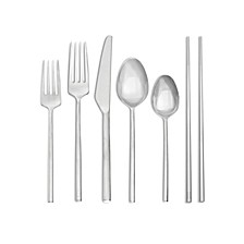 Moderne 5-Pc. Flatware Place Setting With Chopsticks