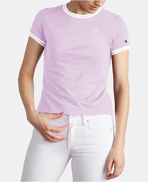 Champion Cotton Ringer T-Shirt