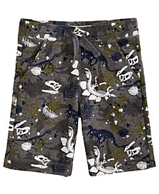 Epic Threads Toddler Boys Dino-Print Knit Shorts, Created for Macy's