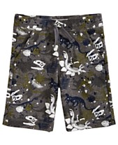 e3988a87cf693 Epic Threads Little Boys Dino-Print Knit Shorts, Created for Macy's