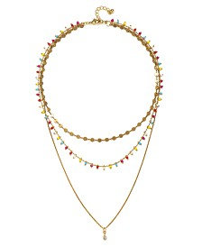 Capwell & Co. Row Beaded Necklace