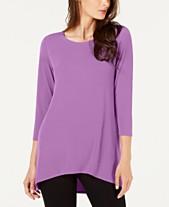 e80d44e72bf59e Purple Blouses For Women - Macy s