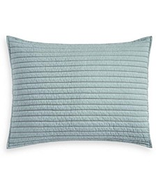 Washed Rice Stitch Standard Sham, Created for Macy's