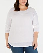 3c37cd52c6d9 INC International Concepts Womens Plus Size Sweaters - Macy s