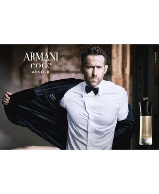 Men's Armani Code Absolu Eau de Parfum Spray, 3.7-oz, Created for Macy's!