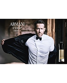 Men's Armani Code Absolu Eau de Parfum Fragrance Collection