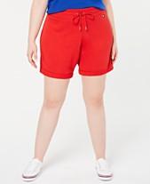 181c2b0c672 Tommy Hilfiger Sport Plus Size Cuffed Shorts