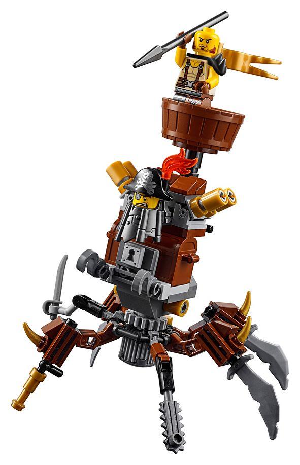 LEGO® Battle-Ready Batman™ and MetalBeard 70836 & Reviews ...