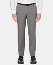 69138ce82a0476 Perry Ellis Men's Portfolio Extra-Slim Fit Performance Stretch Heather  Non-Iron Dress Pants