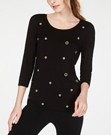 I.N.C. Embellished Top, Created for Macy's