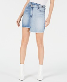 GUESS Rework Denim Skirt