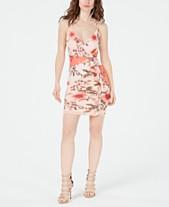 633a62b41575 GUESS Skylar Ruffled-Trim Floral-Print Dress