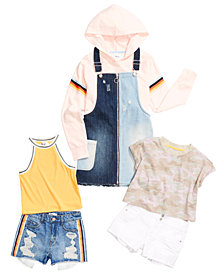 Epic Threads Big Girls Denim Shorts, Skirtall, Tops & Sweatshirt Separates, Created for Macy's