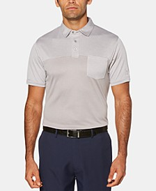 Men's Athletic-Fit Air Texturized End-On-End Pocket Polo