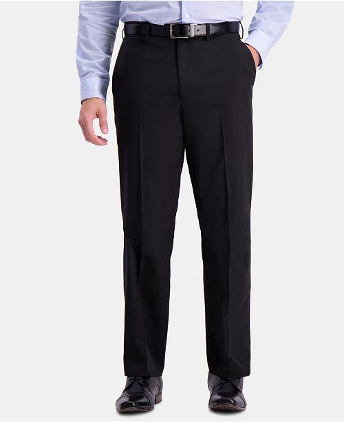 Haggar Men's Active Series Herringbone Classic-Fit Suit Separate Pants