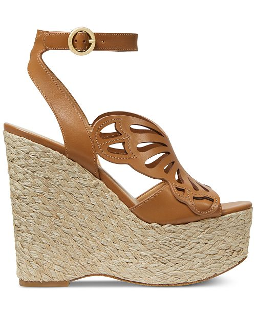 aed9127ab317 Michael Kors Felicity Wedge Sandals   Reviews - Sandals   Flip Flops ...