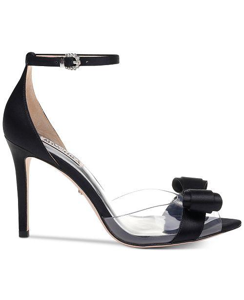 98a4140e76b Badgley Mischka Lindsay Evening Pumps   Reviews - Pumps - Shoes - Macy s