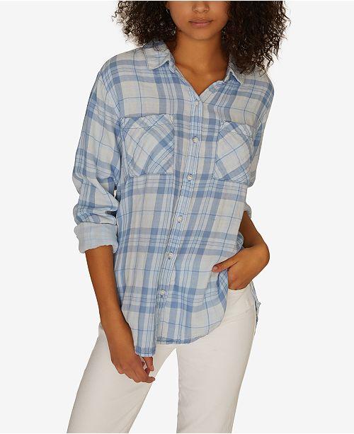 Sanctuary Favorite Boyfriend Cotton Shirt