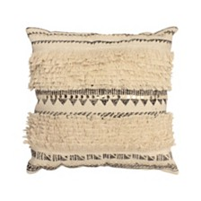 "French Connection Nomad Decorative 18"" x 18"" Throw Pillow"