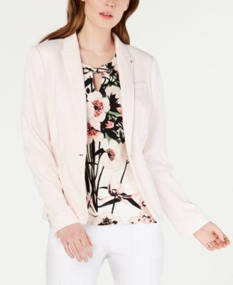 Sweatshirt Elbow-Patch Blazer, Created for Macy's