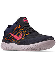 Nike Men's Free RN Flyknit 2018 Running Sneakers from Finish Line