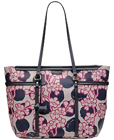 Radley London Blossom Spot Zip Top Tote