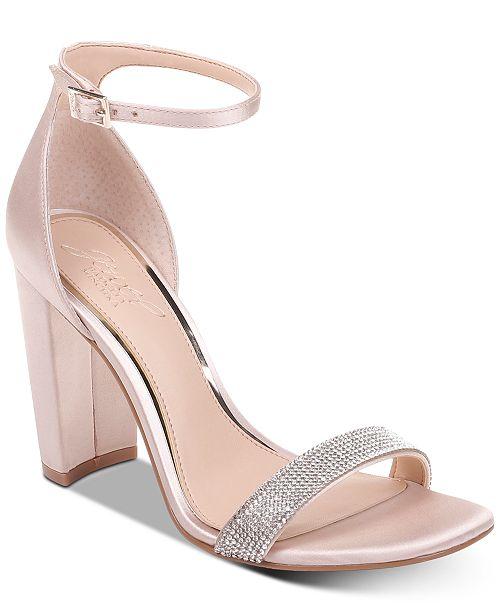 Jewel Badgley Mischka Jewel by Badgley Mischka Keshia III Evening Sandals