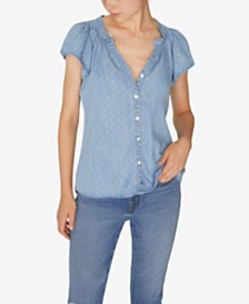 Sanctuary Charmer Denim Shirt