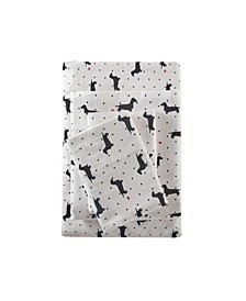 True North Cotton Flannel 4-Piece California King Sheet Set