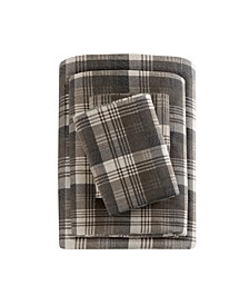 Cotton Flannel 4-Pc. King Sheet Set