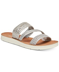 Madden Girl Press Woven Sandals